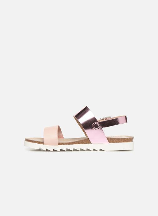 Sandals TBS Tamara Pink front view