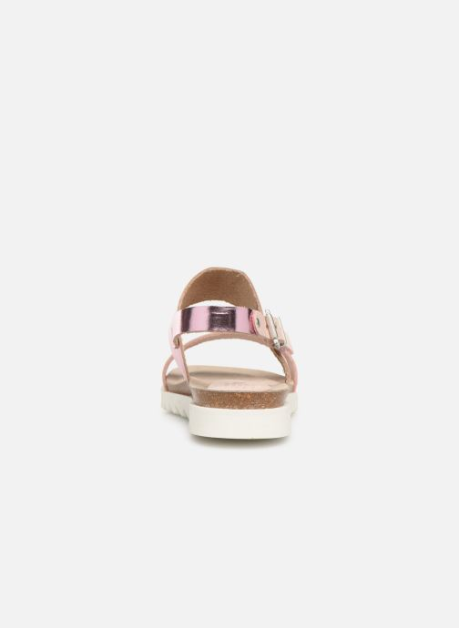 Sandals TBS Tamara Pink view from the right