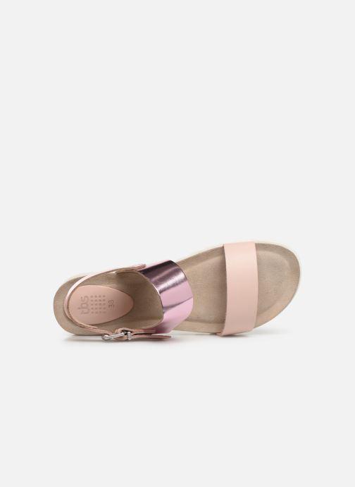Sandales et nu-pieds TBS Tamara Rose vue gauche