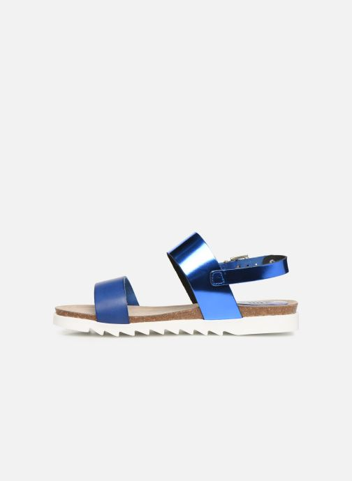 Sandales et nu-pieds TBS Tamara Bleu vue face