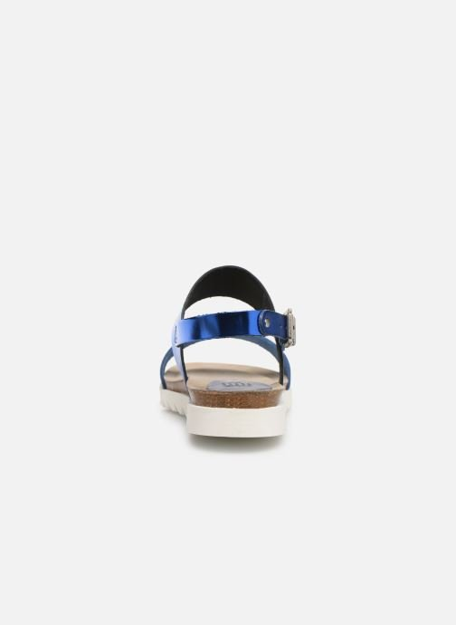 Sandales et nu-pieds TBS Tamara Bleu vue droite