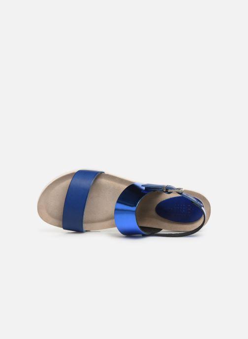 Sandales et nu-pieds TBS Tamara Bleu vue gauche