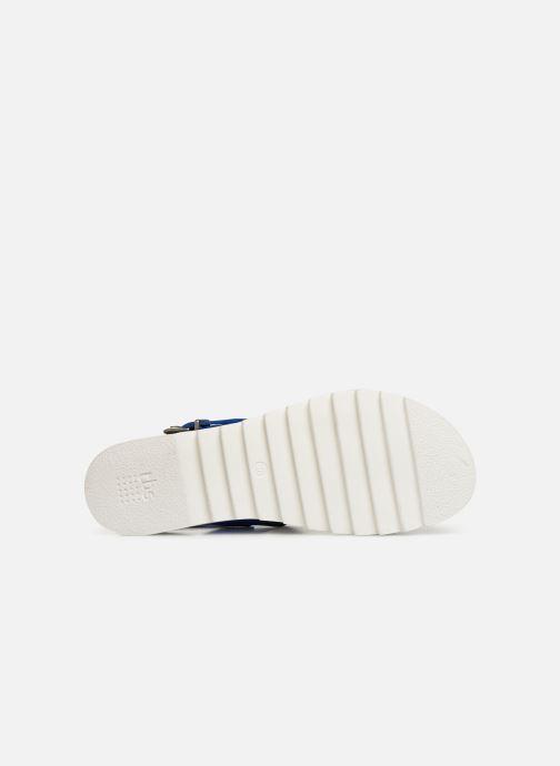 Sandales et nu-pieds TBS Tamara Bleu vue haut