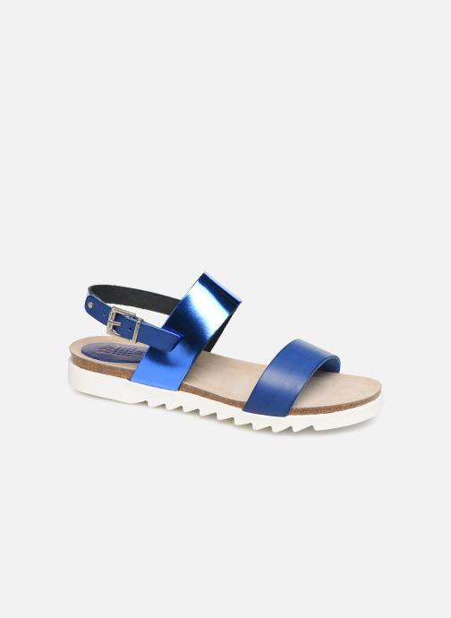 Sandales et nu-pieds TBS Tamara Bleu vue détail/paire