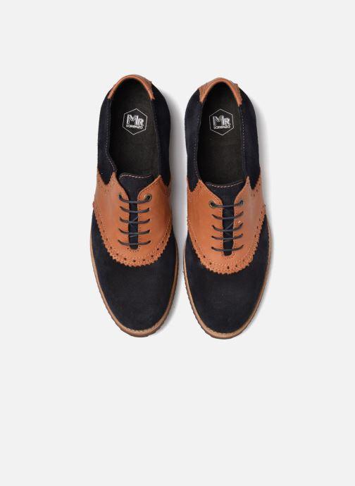 Zapatos con cordones Mr SARENZA Stawugs Azul vista del modelo