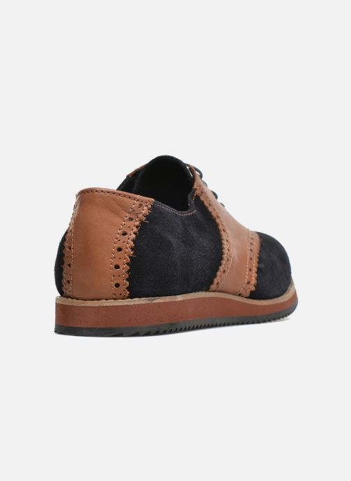 Zapatos con cordones Mr SARENZA Stawugs Azul vista de frente