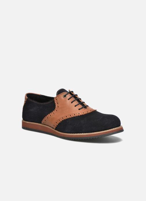 Zapatos con cordones Mr SARENZA Stawugs Azul vista lateral derecha