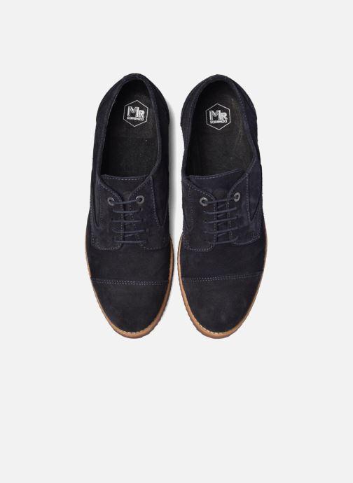Zapatos con cordones Mr SARENZA Steamer Azul vista del modelo