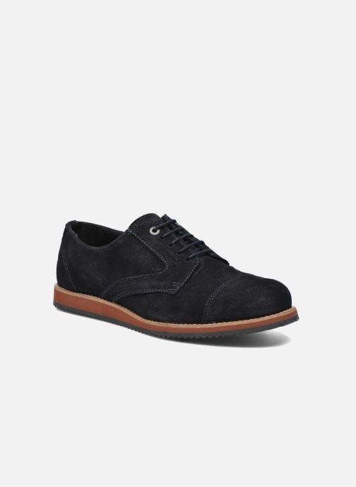 Zapatos con cordones Mr SARENZA Steamer Azul vista lateral derecha