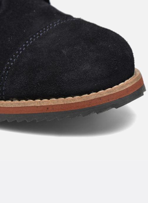 Zapatos con cordones Mr SARENZA Steamer Azul vista lateral izquierda