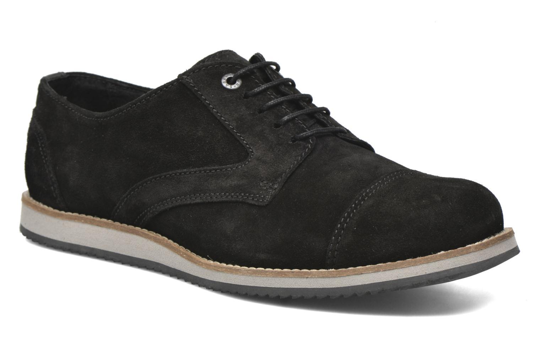 Chaussures à lacets Mr SARENZA Steamer Noir vue droite