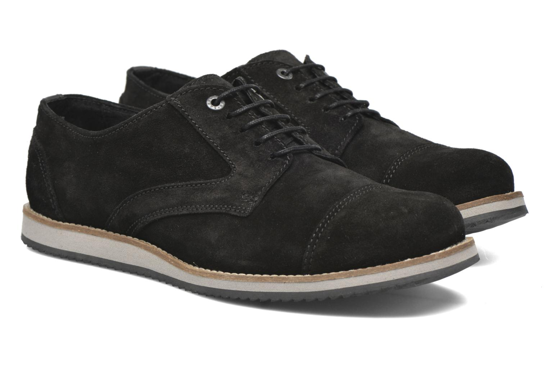 Snörade skor Mr SARENZA Steamer Svart bild från baksidan