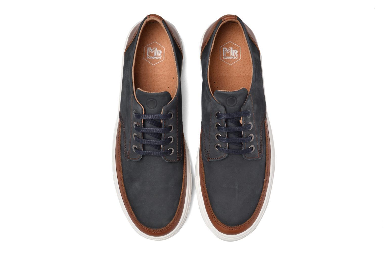 Sneakers Mr SARENZA Stevens Azzurro modello indossato