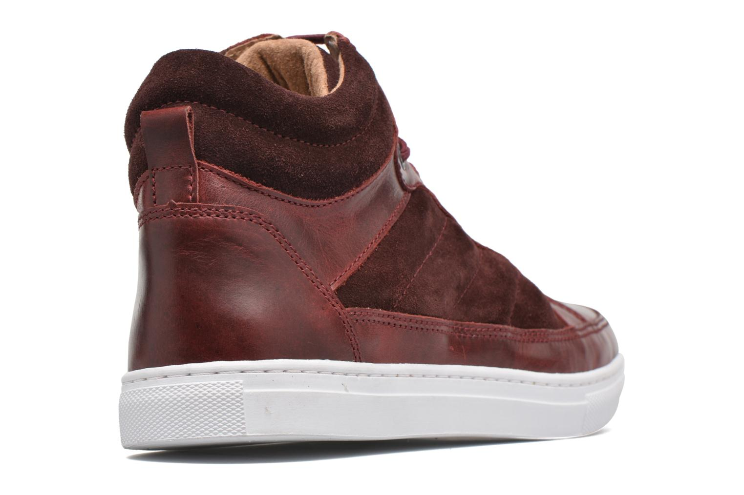 Trainers Mr SARENZA Stryges Burgundy front view