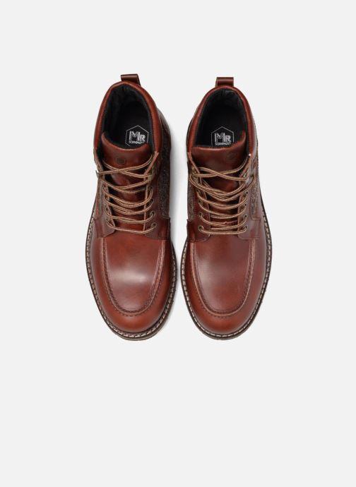 Bottines et boots Mr SARENZA Newfeel Marron vue portées chaussures