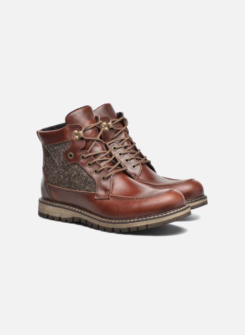 Bottines et boots Mr SARENZA Newfeel Marron vue derrière
