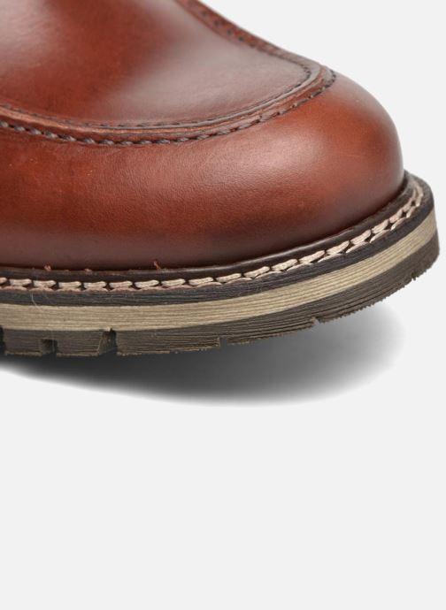Bottines et boots Mr SARENZA Newfeel Marron vue gauche