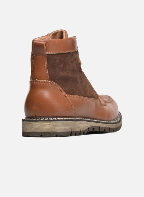 Bottines et boots Mr SARENZA Newfeel Marron vue face