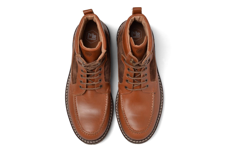 Boots en enkellaarsjes Mr SARENZA Newfeel Bruin model