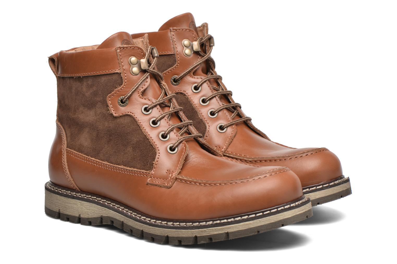 Boots en enkellaarsjes Mr SARENZA Newfeel Bruin achterkant