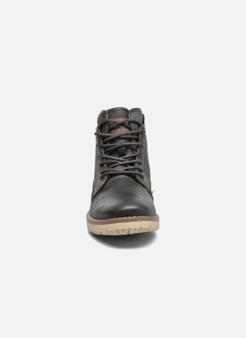 Stiefeletten & Boots Mustang shoes Muska blau schuhe getragen