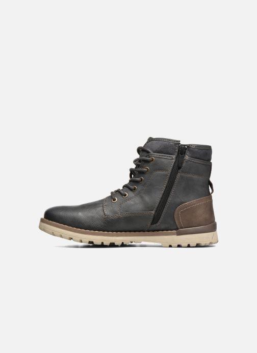 Boots en enkellaarsjes Mustang shoes Muska Blauw voorkant