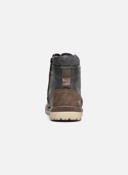 Boots en enkellaarsjes Mustang shoes Muska Blauw rechts