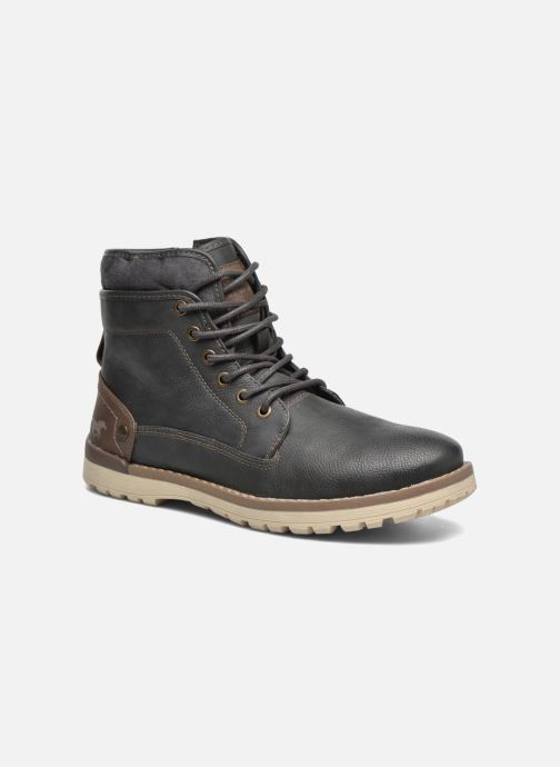 Boots en enkellaarsjes Mustang shoes Muska Blauw detail