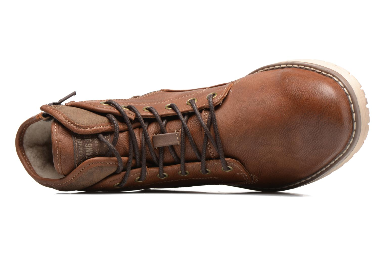 Bottines et boots Mustang shoes Muska Marron vue gauche