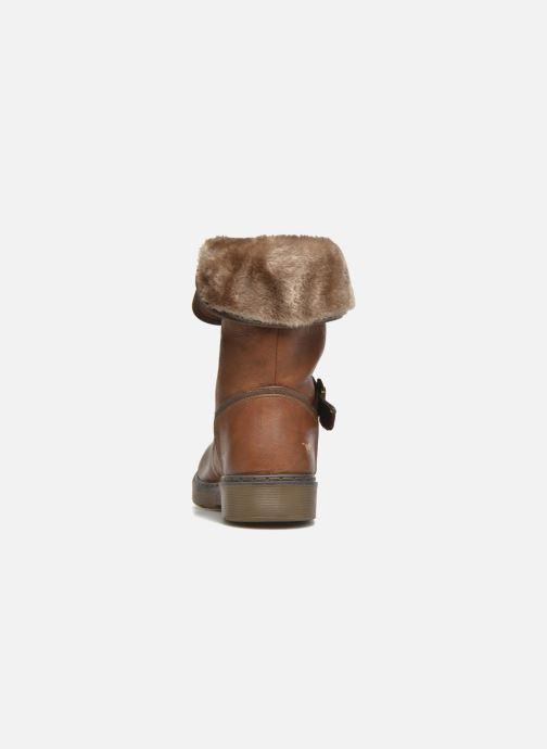 Stivaletti e tronchetti Mustang shoes Musdi Marrone immagine destra