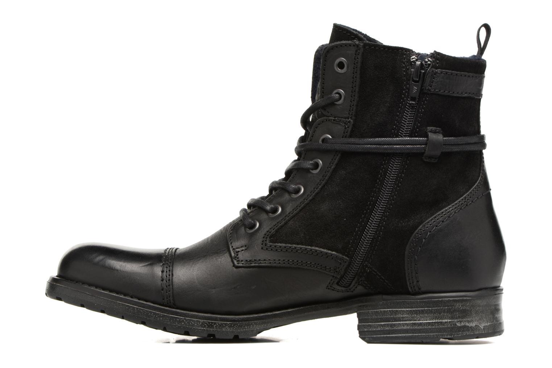 Bottines et boots Mustang shoes Mikaï Noir vue face