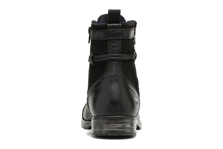 Bottines et boots Mustang shoes Mikaï Noir vue droite