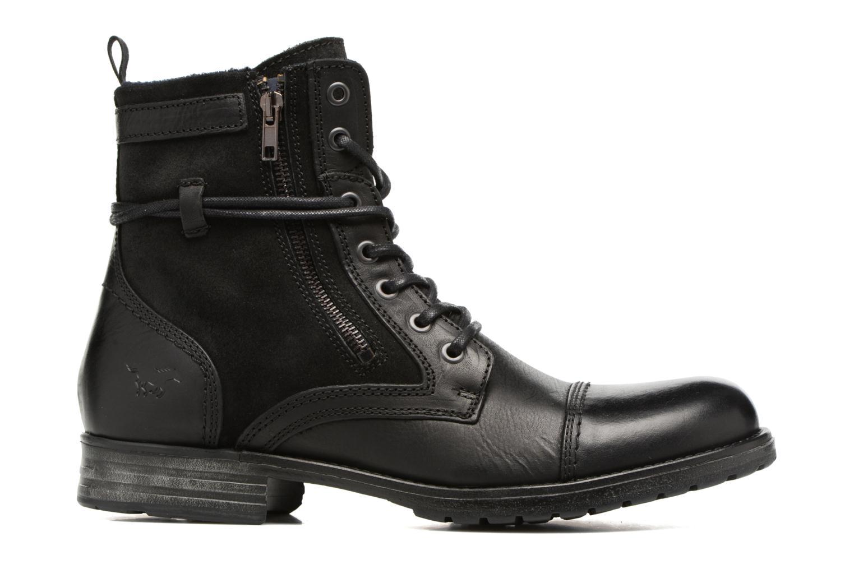 Bottines et boots Mustang shoes Mikaï Noir vue derrière