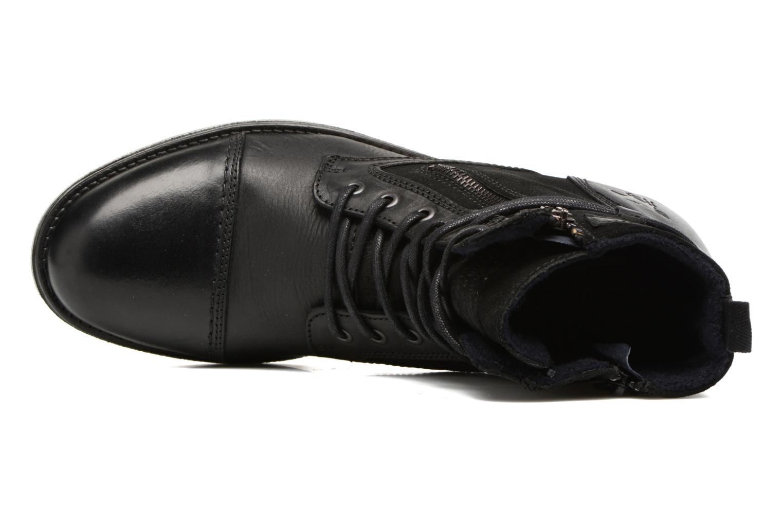 Bottines et boots Mustang shoes Mikaï Noir vue gauche
