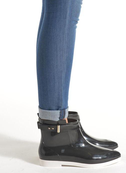 Bottines et boots Melissa Melissa Françoise Noir vue bas / vue portée sac