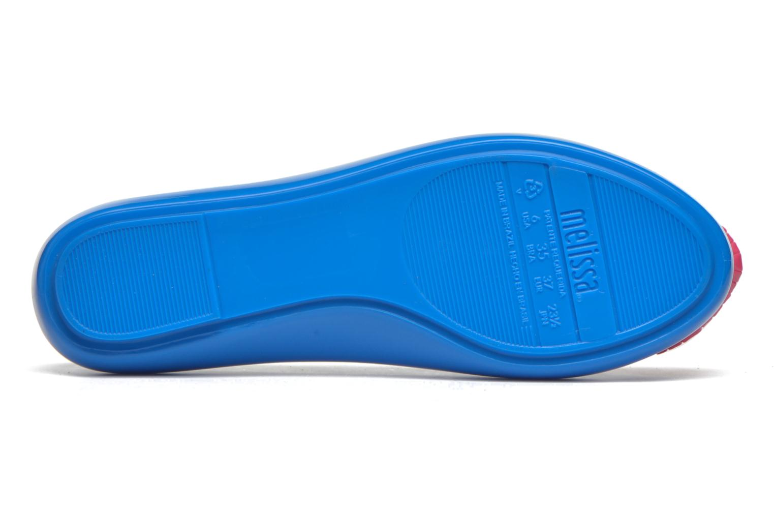 Ballet pumps Melissa Space love Blue view from above