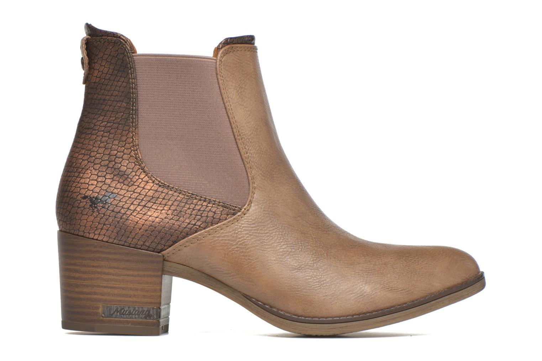 Bottines et boots Mustang shoes Mustea Marron vue derrière