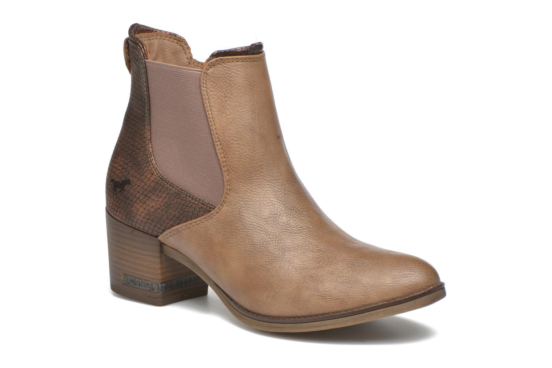Bottines et boots Mustang shoes Mustea Marron vue détail/paire