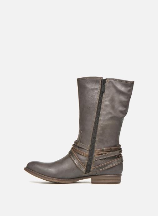 Ankle boots Mustang shoes Mupe Grey front view