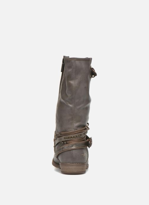 Ankle boots Mustang shoes Mupe Grey view from the right