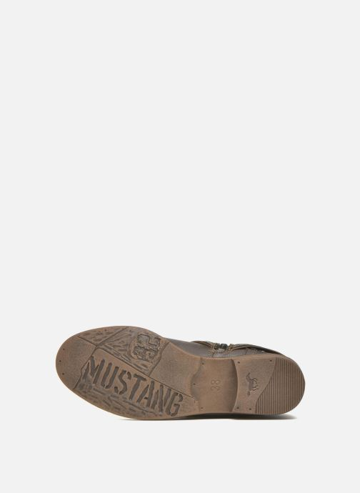 Ankle boots Mustang shoes Mupe Grey view from above