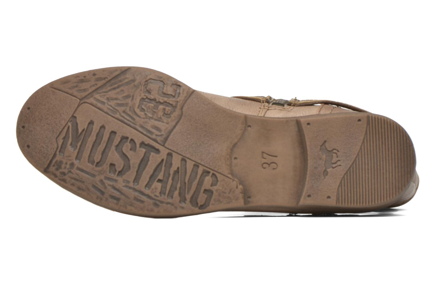 Ankle boots Mustang shoes Mupe Brown view from above