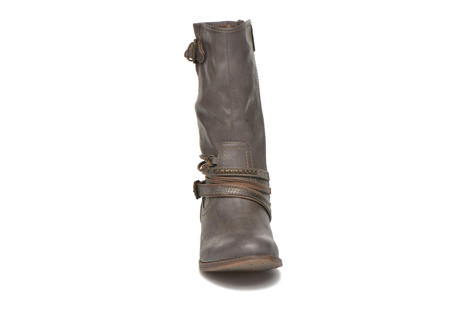 Ankle boots Mustang shoes Mupe Grey model view