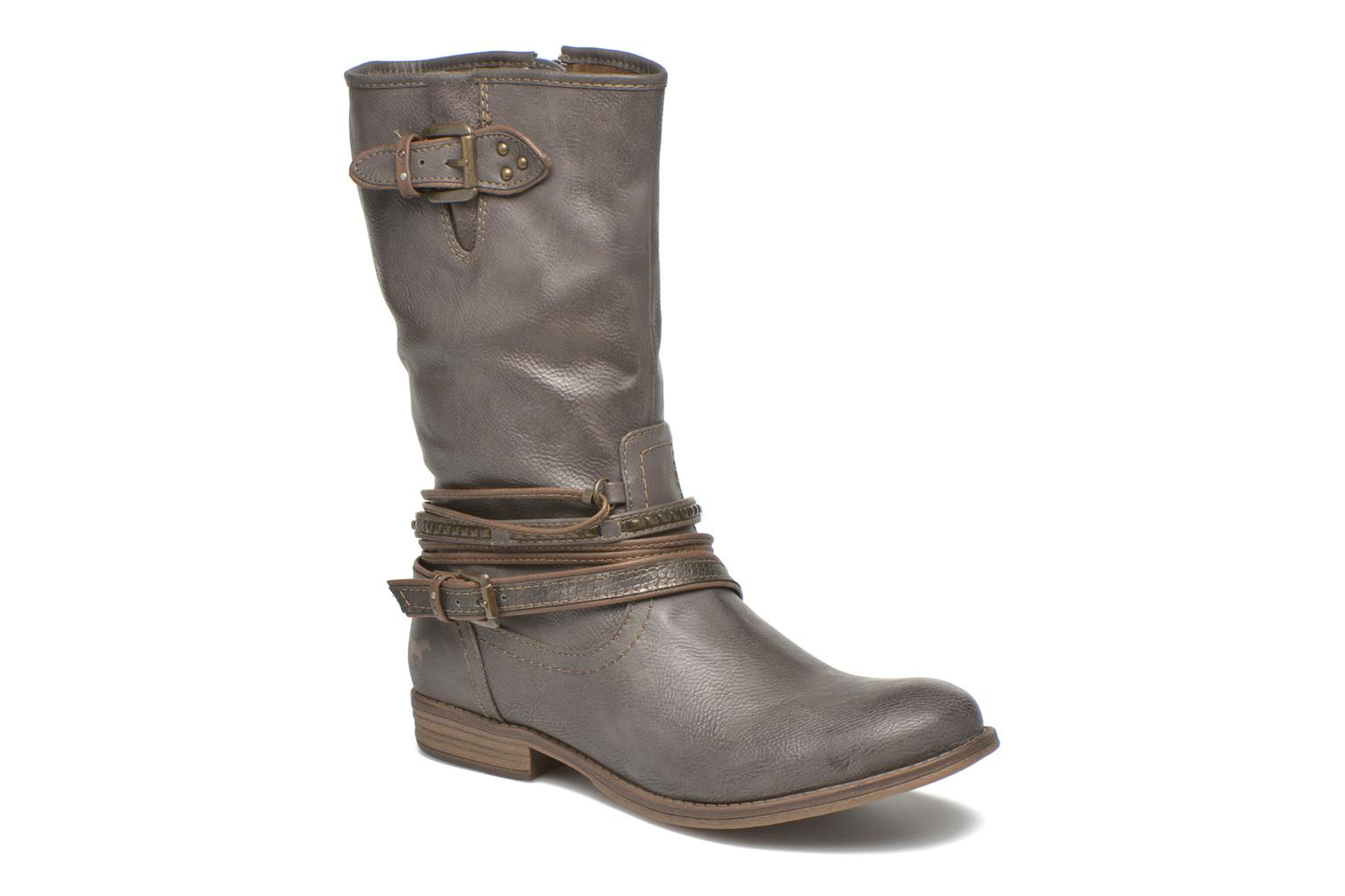 Ankle boots Mustang shoes Mupe Grey detailed view/ Pair view