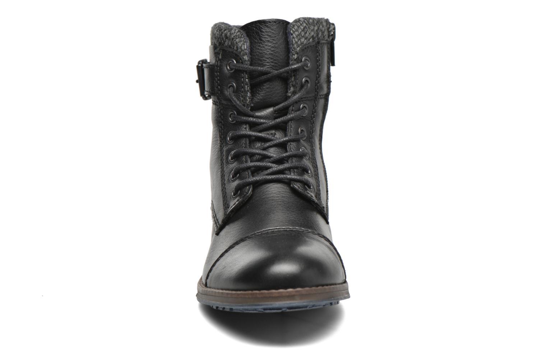 Bottines et boots Mustang shoes Muwa Noir vue portées chaussures