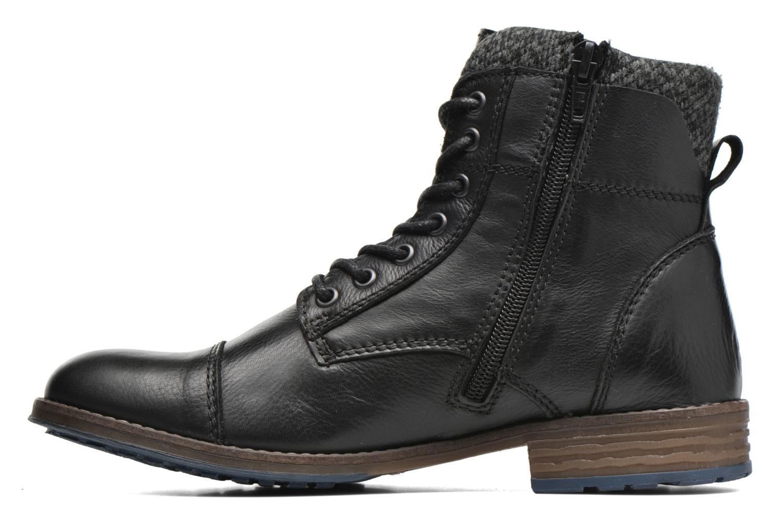 Bottines et boots Mustang shoes Muwa Noir vue face