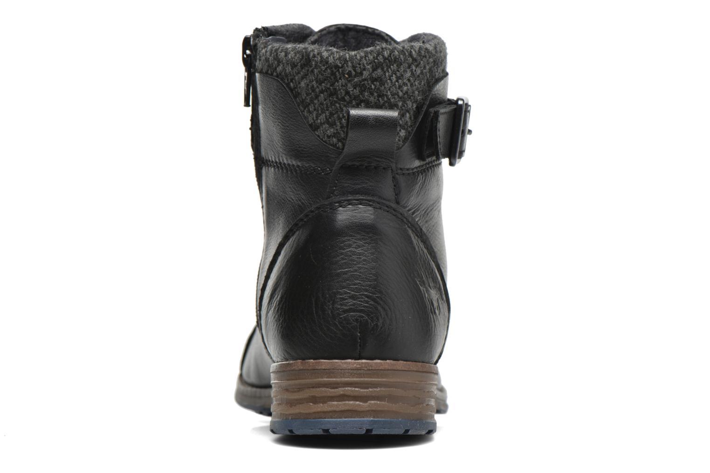 Bottines et boots Mustang shoes Muwa Noir vue droite
