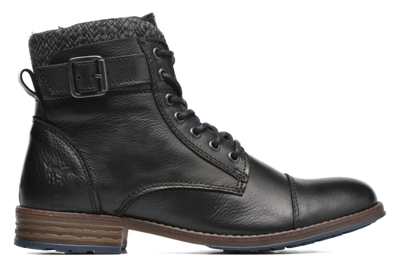 Bottines et boots Mustang shoes Muwa Noir vue derrière