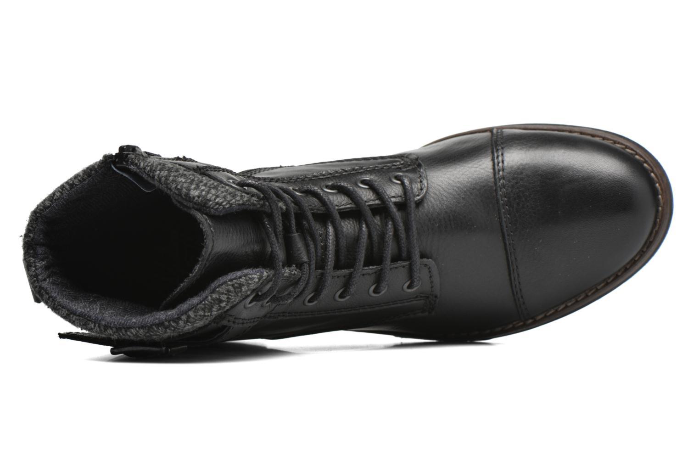 Bottines et boots Mustang shoes Muwa Noir vue gauche