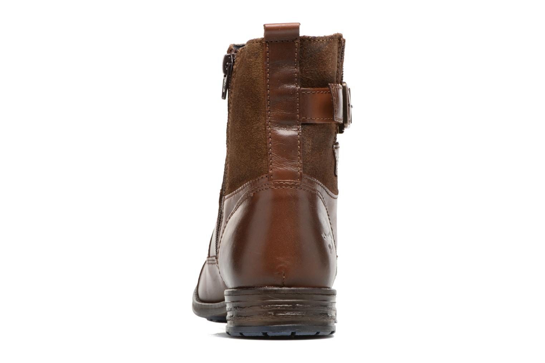 Bottines et boots Mustang shoes Muwa Marron vue droite